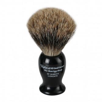 Taylor Of Old Bond Street Shaving Brush Pure Badger Black