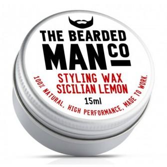 The Bearded Man Company Moustache Wax Sicilian Lemon