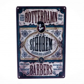 Barber Vintage Metal Sign