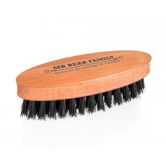 Mr Bear Family Beard Brush Travel Size