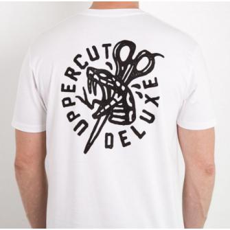 Uppercut T-Shirt Stay Bold White
