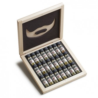 The Bearded Man Company 24 Pieces Sampler Kit - Wooden Box