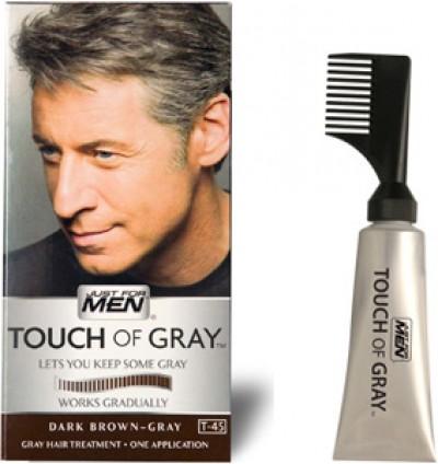 grå hårfärg för män