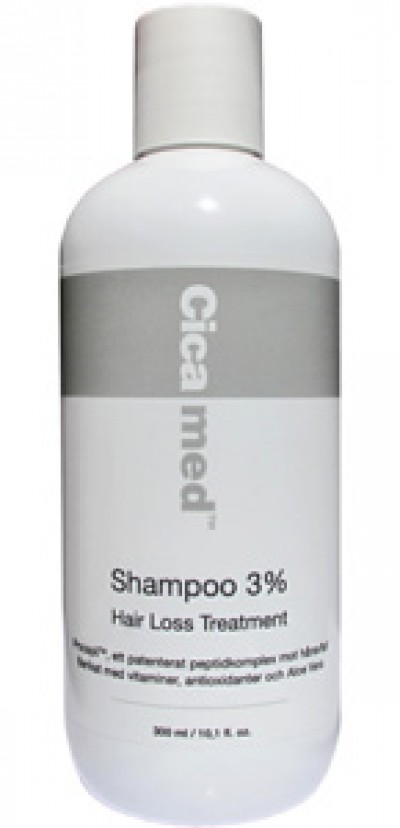 Cicamed Shampoo 3% Hair Loss Treatment