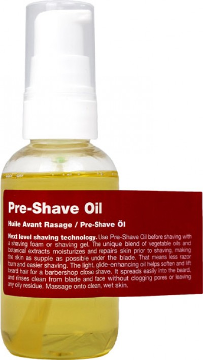 Recipe for men Pre-Shave Oil