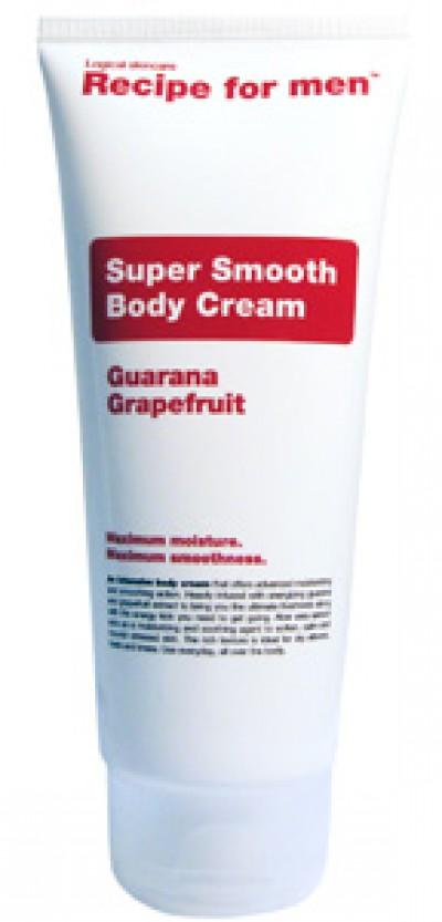 Recipe for men Super Smooth Body Cream