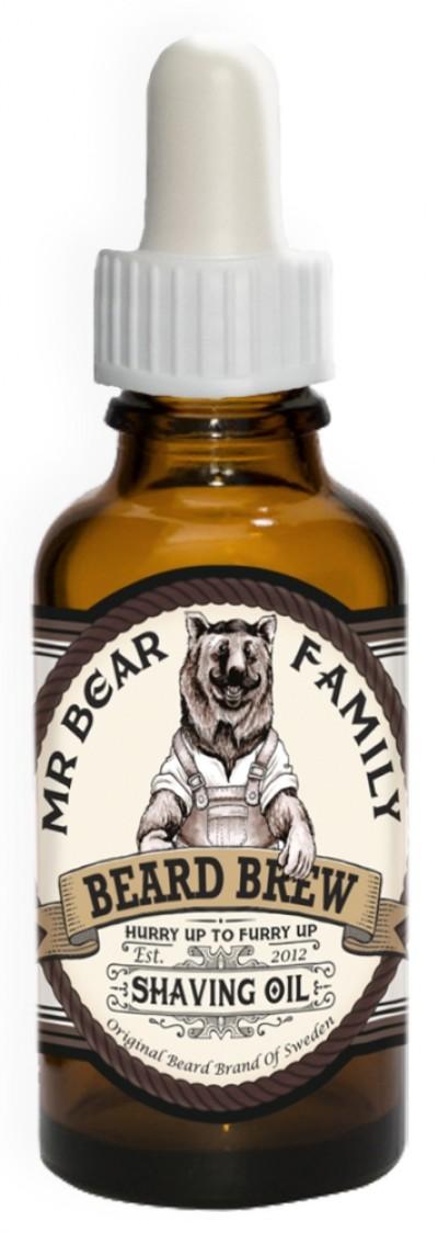 Mr Bear Shaving Time - Shave Oil