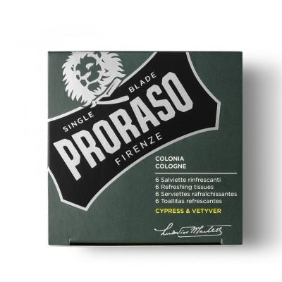 Proraso Refreshing Wipes Cypress & Vetiver