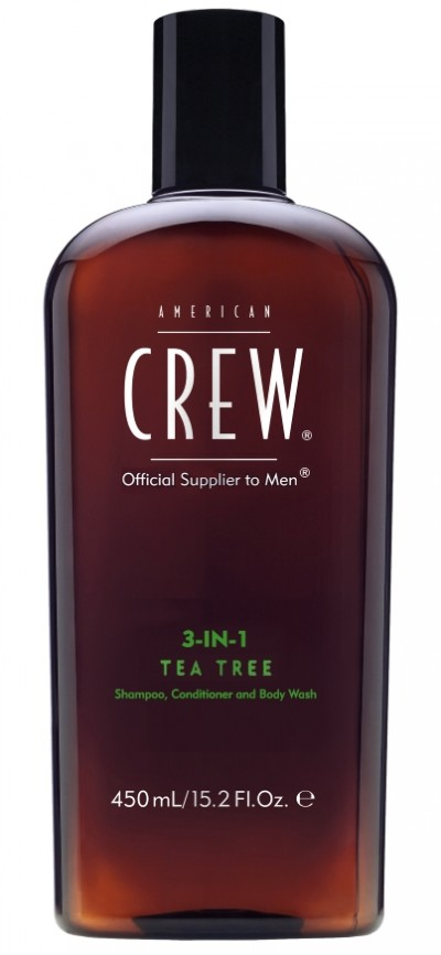 American Crew Tea Tree Body Wash Supersize