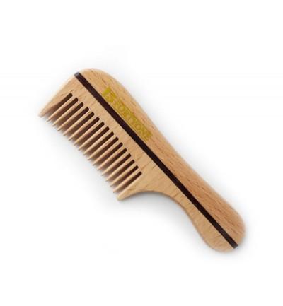 1541 London Wooden Pocket Beard Comb