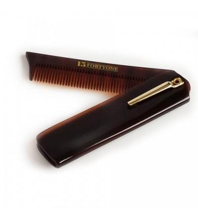 1541 London Folding Pocket Beard Comb