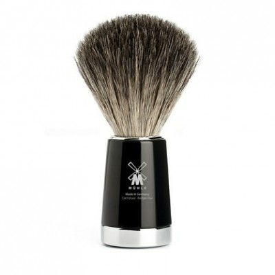 Mühle Liscio Shaving Brush Pure Badger Noir