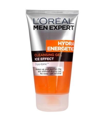 L'Oréal Men Expert Hydra Energetic Cleansing Gel Ice Effect