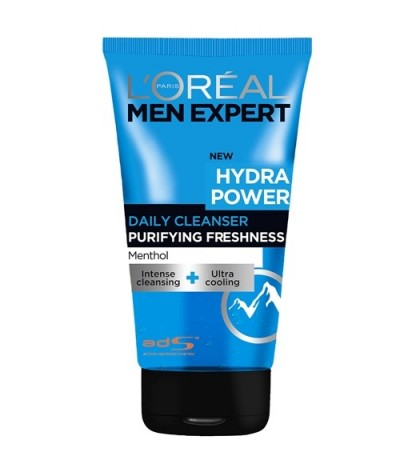 L'Oréal Men Expert Hydra Power Daily Cleanser Menthol
