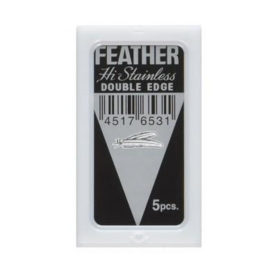 Feather Double Edge Razor Blades 5-p