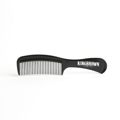 King Brown Handle Comb Black