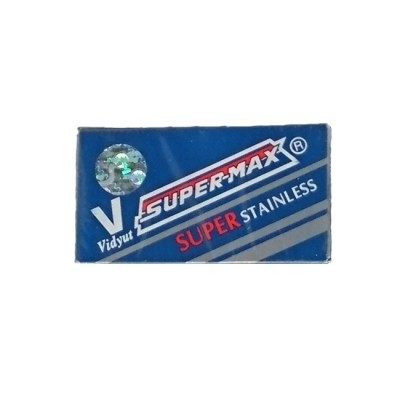 Super-Max Stainless Double Edge Razor Blades