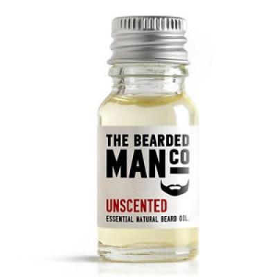 The Bearded Man Company Beard Oil Unscented 10 ml