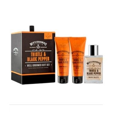 The Scottish Fine Soaps Well Groomed Gift Set
