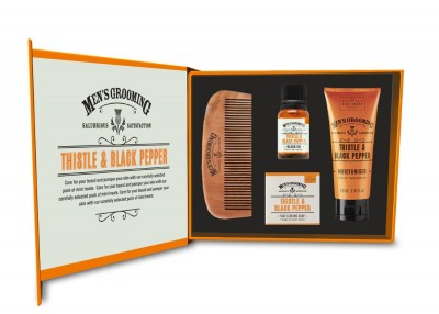 The Scottish Fine Soaps Face & Beard Care Kit