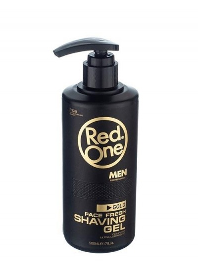 Red One GOLD Shaving Gel 500 ml