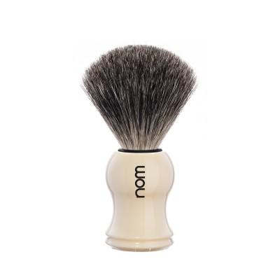 Mühle Nom Gustav Shaving Brush Pure Badger, creme