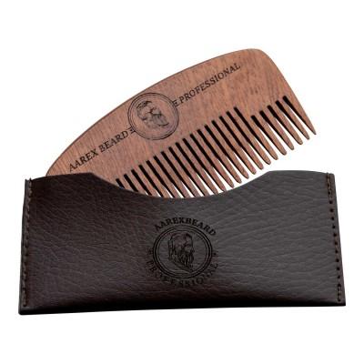Aarex Beard Comb Mahogany No. 02