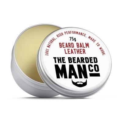 The Bearded Man Company Beard Balm Leather
