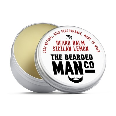 The Bearded Man Company Beard Balm Sicilian Lemon