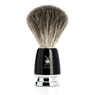 Mühle Rytmo Shaving Brush Pure Badger, Noir
