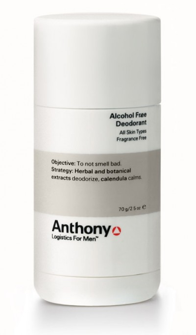 Anthony Deodorant - Alcohol Free