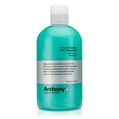Anthony Invigorating Rush Hair + Body Shampoo