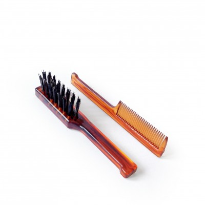 Mondial Antica Barberia Brush & Comb Set