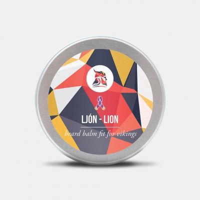 Fit for Vikings Beard Balm Ljón-Lion