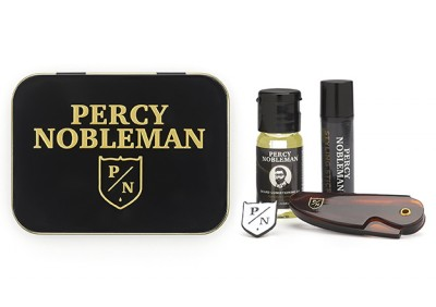 Percy Nobleman Beard Grooming Travel Tin