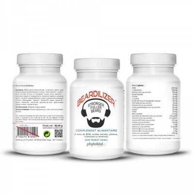 Beardilizer Facial Hair Complex 3-pack