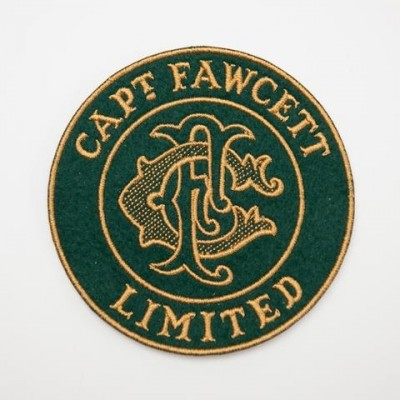Captain Fawcett Cloth Patch