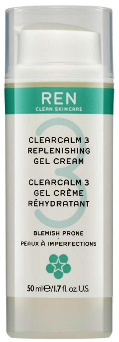 REN Clearcalm3 Replenishing Gel Cream