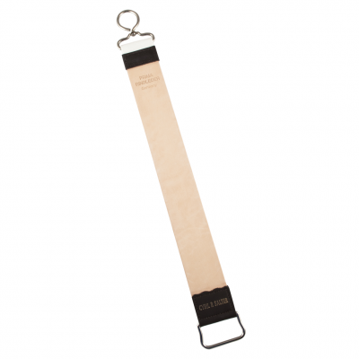 Cyril R. Salter Small Leather and Canvas Hanging Strop with Hook