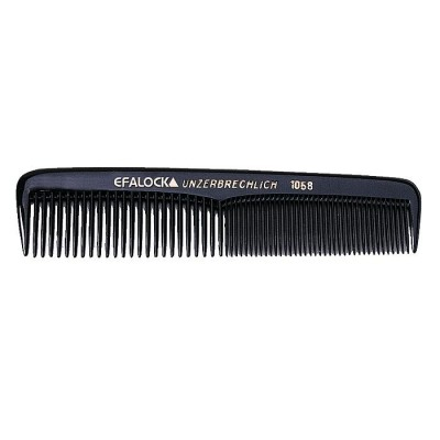 Efalock Pocket Comb Black