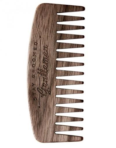 Big Red Beard Comb No.9 - Walnut