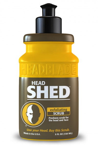 HeadBlade HeadShed Exfoliating Scrub 150 ml