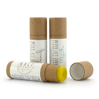 Kaliflower Organics Lip Balm Papphylsa Vanilj