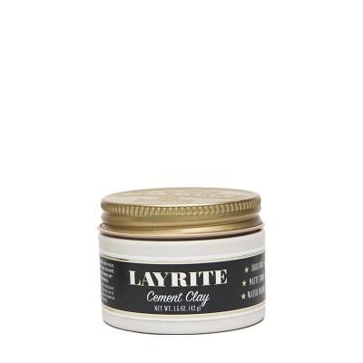 Layrite Cement Hair Clay travel