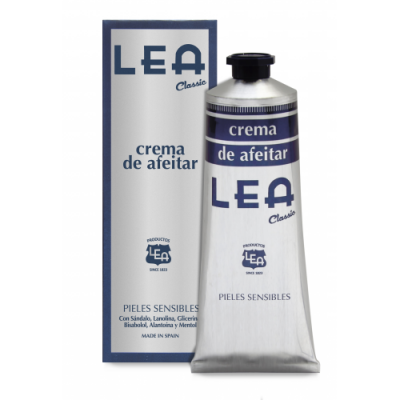 LEA Classic Shaving Cream in Tube