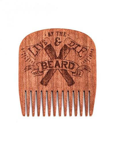 Big Red Beard Comb No.5 - Live & Die