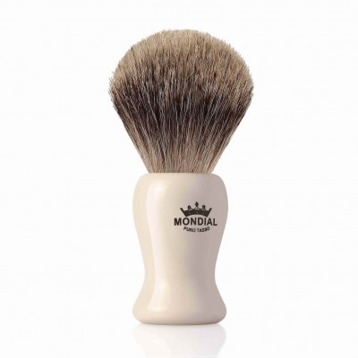 Mondial Baylis Shaving Brush Grey Badger