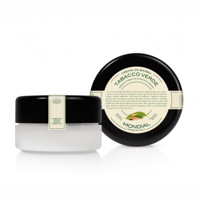 Mondial Classic Luxury Shaving Cream Tabacco Verde Bowl