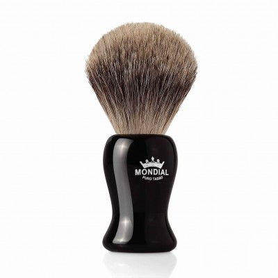 Mondial Gibson Shaving Brush Grey Badger