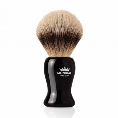 Mondial Gibson Shaving Brush Silvertip